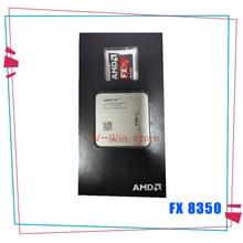 AMD FX سلسلة FX 8350 FX 8350 4.0G ثمانية النواة معالج وحدة المعالجة المركزية 125W FD8350FRW8KHK المقبس AM3 +