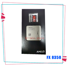 AMD FX Serisi FX 8350 FX 8350 4.0G Sekiz Çekirdekli CPU Işlemci 125W FD8350FRW8KHK Soket AM3 +