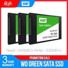 Western Digital WD SSD GREEN PC 120 ГБ 240 ГБ 480 ГБ Внутренний твердотельный накопитель Sabit жесткий диск SATA3 6 ГБ/сек. для ноутбука