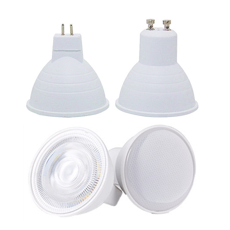 GU10 MR16 Led Bulb Spotlight 220V Natural Light Nature White 4000k Cool White 6500k Warm White 3000k Dimmable Cob Lamp 6W 230V