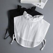 Chemise Vintage Faux Col blanc pour femmes, support, détachable, Faux Col, accessoires de vêtements, 2020