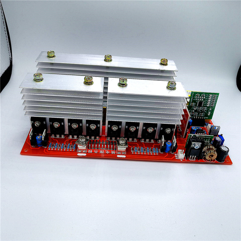 Pure sine wave power <font><b>inverter</b></font> automatic identification voltage 12V <font><b>24v</b></font> 36v 48v 60v 3500W 4500W <font><b>6000W</b></font> 7500w circuit board image