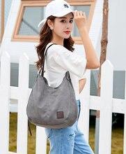 Винтажные холщовые сумки Хобо новинка женская сумка на плечо