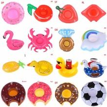 25 типов бассейн поплавок фламинго напиток держатель надувной плавучий плавательный бассейн пляж вечеринка плавание напитки чашка держатели бесплатно доставка