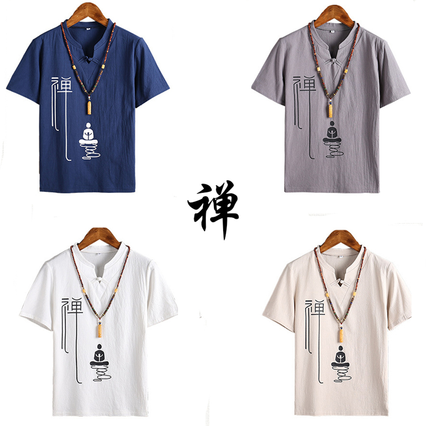 Traditional Chinese Clothing For Men Tang Suit Vintage Tops Blouse Coat Kung Fu Clothing Chinese Shirt New Year Clothes China