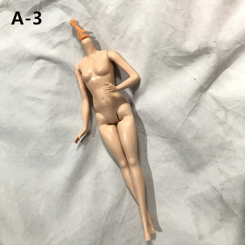 Brązowa biała skóra 30cm lalki części ciała dla dzieci zabawki 5 stawów lalki ciała 1 6 akcesoria BJD element ubioru tanie i dobre opinie MUQGEW CN (pochodzenie) Joints doll body cartoon Mini Model NONE Film i telewizja Jionts doll part only body for 30cm doll
