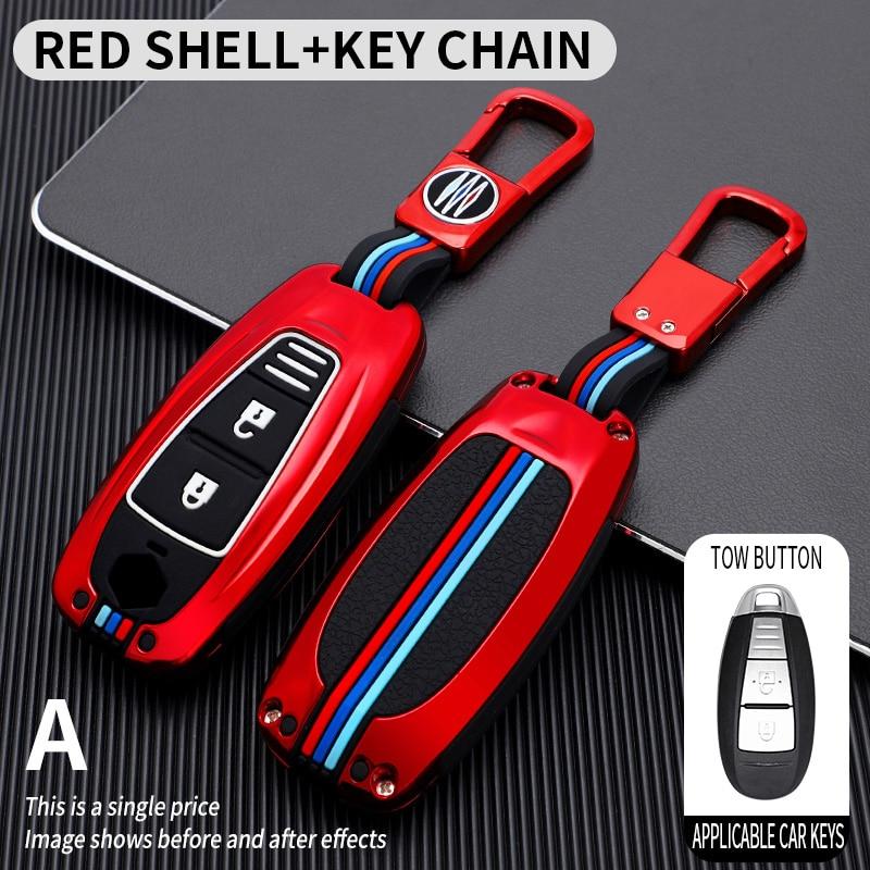 Zinc Alloy Car Key Case Cover For Suzuki Vitara Swift Kizashi SX4 Ignis Baleno Ertiga Ciaz S-cross Grand Auto Accessories