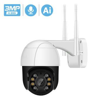 1080P cámara IP PTZ WiFi almacenamiento en la nube movimiento aviso por voz 2MP CCTV Cámara Color IR luz Ai Audio seguridad cámara de vigilancia