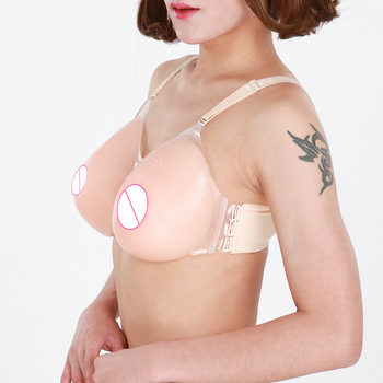 Realistic Silicone Fake Breast Forms Concave-bottomed Round Shape Fake Boobs For Crossdresser Transvestite Drag Queen Mastectomy цена 2017
