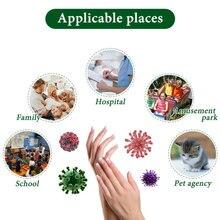 200ml Antibacterial Hand Sanitizer Moisturizing Disposable Waterless Hand Sanitizer Gel Alcohol Hand Wash Gel Antiseptic Handgel