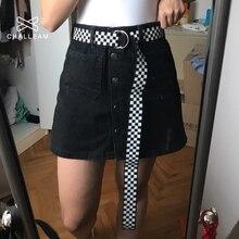 Женские ремни с двойным d-образным кольцом и пряжкой, женские черные, синие джинсы, холщовые поясные ремни, модные клетчатые длинные ремни 151
