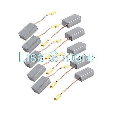 10 Pcs Power Tool 15 X 8 X 5mm Carbon Brushes 9/16