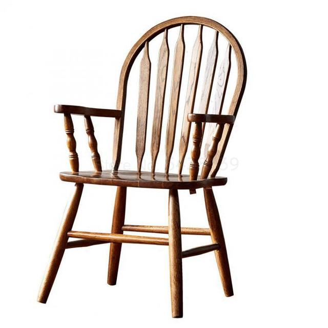 Windsor Solid Wood Dining Chair  1