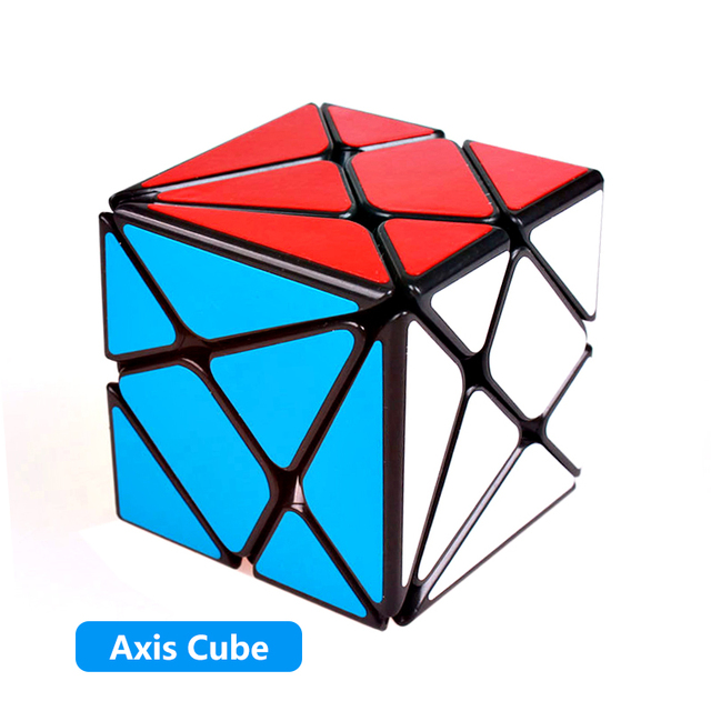 Yongjun Axis magic speed cube YJ wheel puzzle cubes sticker professional 3×3 Fisher cube educational toys for children 3x3x3