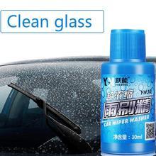 Auto płyn do szyb czyszczenie szyb samochodowych mycie wycieraczek tabletki musujące akcesoria samochodowe środek do czyszczenia szkła wycieraczka lita Fine Clear tanie tanio Przeciw zamarzaniu QYP1775