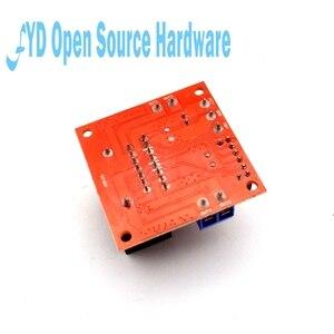 Image 4 - 1pcs L298N Motor Driver Controller Board Module Dual  H Bridge DC L298N Stepper Motor Driver for arduino