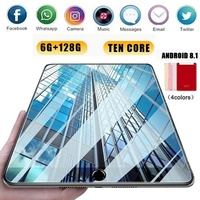 2020 WiFi Android Tablet PC 1280*800 IPS Screen 10 Inch Ten Core 6G+128G Android 8.1 Dual SIM Dual Camera 5MP 5000mAh
