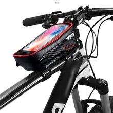 Bicycle-Bags Frame Phone-Case Top-Tube Handlebar Rainproof Touchscreen