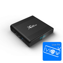 X96 air en iview HD voor Streaming Media Player voor Amlogic S905X3 Europa IPTV Box Ondersteuning HEVC 8K WiFi sport Movie Music Servic(China)
