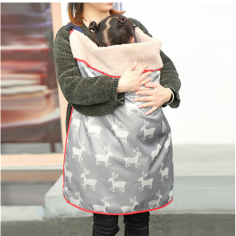 Baby Stroller Cover Blankets Fleece Unicorn Baby Carrier Cover Waterproof Windproof Baby Swaddle Bl
