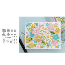 flower Cutting Dies for DIY Scrapbooking/photo album Decorative Embossing DIY Paper Cards and die