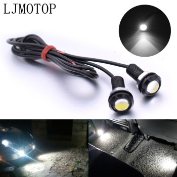 For Suzuki GSXR 1000 1100 400 RG500 RGV250 V S Z 800 Eagle Eye LED Reverse Backup Light Daytime Running Signal Motorcycl Lamp image