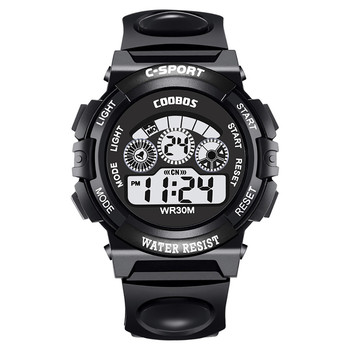Hot Sale Waterproof Children Watch Boys Girls LED Digital Sports Watches Silicone Rubber watch kids Casual Watch Gift 2019