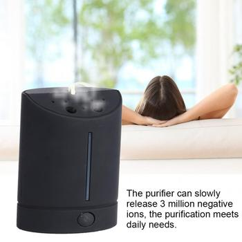цена на Food Purifier DC4V Mini Neck Hanging Type Negative Ion Air Purifier PM2.5 Removal USB Powered Air Cleaner Home Kitchen