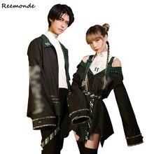 여름 대학 코스프레 의상 Draco Malfoy Jackets 코트 스커트 셔츠 여성용 Girl Boy Party School Of Magic Clothes