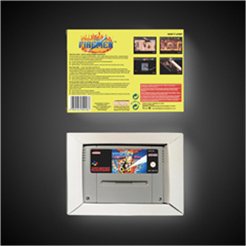 The Firemen - EUR Version Action Game Card with Retail Box 2