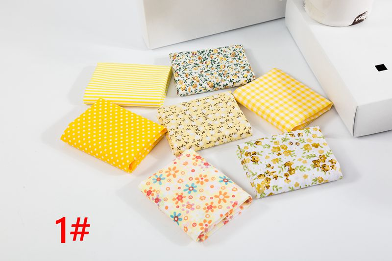 H74d2347f541b4986a4404c034a4596afF 25x25cm and 10x10cm Cotton Fabric Printed Cloth Sewing Quilting Fabrics for Patchwork Needlework DIY Handmade Accessories T7866