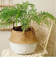 L cores fang engrossamento preto tecido pote planta bolsa raiz recipiente crescer saco ferramentas jardim potes plantadores suprimentos|Vasos p/ pendurar| |  -