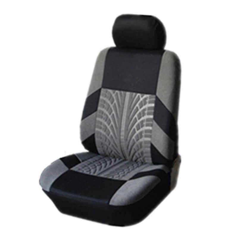 Kbkmcy Borduurwerk Auto Bekleding Voor Peugeot 107 208 301 308 408 Rcz 508 2008 4008 3008 4 Stuk set Universele Auto Seat Protector