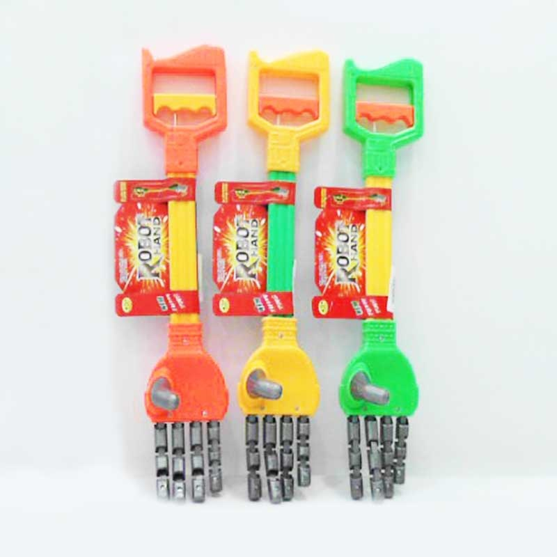 Children'S Educational Plastic Five Claw Mechanical Arm Model Clip Of Pliers Mechanical Hand Fun Object Picking Toy
