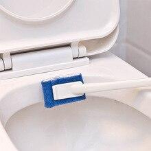 1 PCS Plastic Long Handle Toilet Brush No Dead Angle Soft Hair Bathroom Scrub Cleaning Lavatory Tool