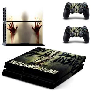 Image 3 - The Walking Dead PS4สติกเกอร์Play Station 4สติกเกอร์ผิวเกมสำหรับPlayStation 4 PS4คอนโซลและคอนโทรลเลอร์สกินไวนิล