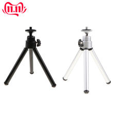 2pcs Universal 360° Rotatable Mini Desktop Tripod 3 Extensible Legs Stand Support For Cameras Video Cell Phone Micro Props(China)