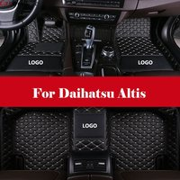 Car Styling LHD car accessories car Floor Mats Car Floor Mats Waterproof Leather Carpets For Daihatsu Altis