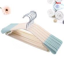 5 шт./компл. аксессуары для дома прочный нескользящий сушильный стеллаж для брюк для взрослых Рубашка Вешалки для одежды пластиковый, прочный Бесшовный