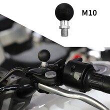 "1"" Ball Base M10 x 1.25 Male Thread Mount"