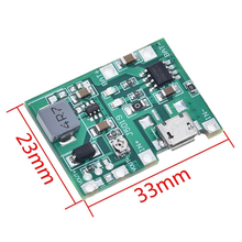 TP4056 Step Up Boost Module 18650 3.7V 4.2V Lithium Battery Charger Board Adjustable DC-DC Step Up Boost Module DIY Kit Parts