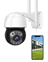 Telecamera IP Wifi PTZ da 5mp telecamera IP esterna per monitoraggio automatico umano telecamera Wireless Audio 2MP 3MP Smart Security CCTV IP Camera Cloud Storage