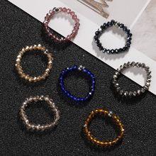 Momiji boho anéis de casamento de pedra natural para mulheres meninas multi cor todos feitos à mão moda jóias coreano frisado anéis por atacado