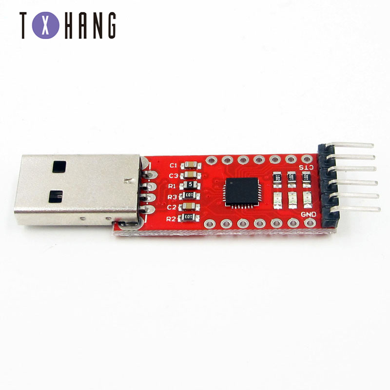 CP2102 module USB TO TTL to serial port module UART STC downloader Brush line
