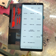 Dead point For Samsung Note 8 LCD Display Touch Screen Digitizer For Samsung Galaxy Note 8 N9500 N9500 N950D N950U No Frame N950
