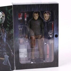 Image 5 - Sexta feira o 13th 4 o capítulo final jason voorhees figura de ação horror modelo, estatuetas de brinquedo
