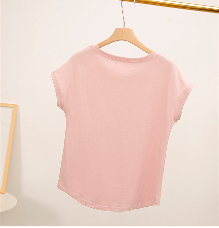 H74d47622a25243c2b4f176460ba75488b - Cotton Summer Blouses Lace Batwing Sleeve Shirts For Womens Tops Shirts Plus Size Women Clothing Korean Pink Blusas Female
