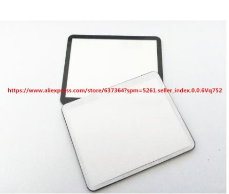 New LCD Screen Window Display (Acrylic) Outer Glass For CANON EOS 5DII 5D Mark II / 5D2 Camera Screen Protector + Tape