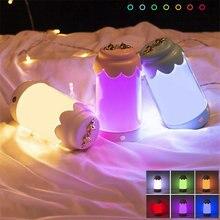 Светящийся ночсветильник в виде бутылки декоративная лампа для