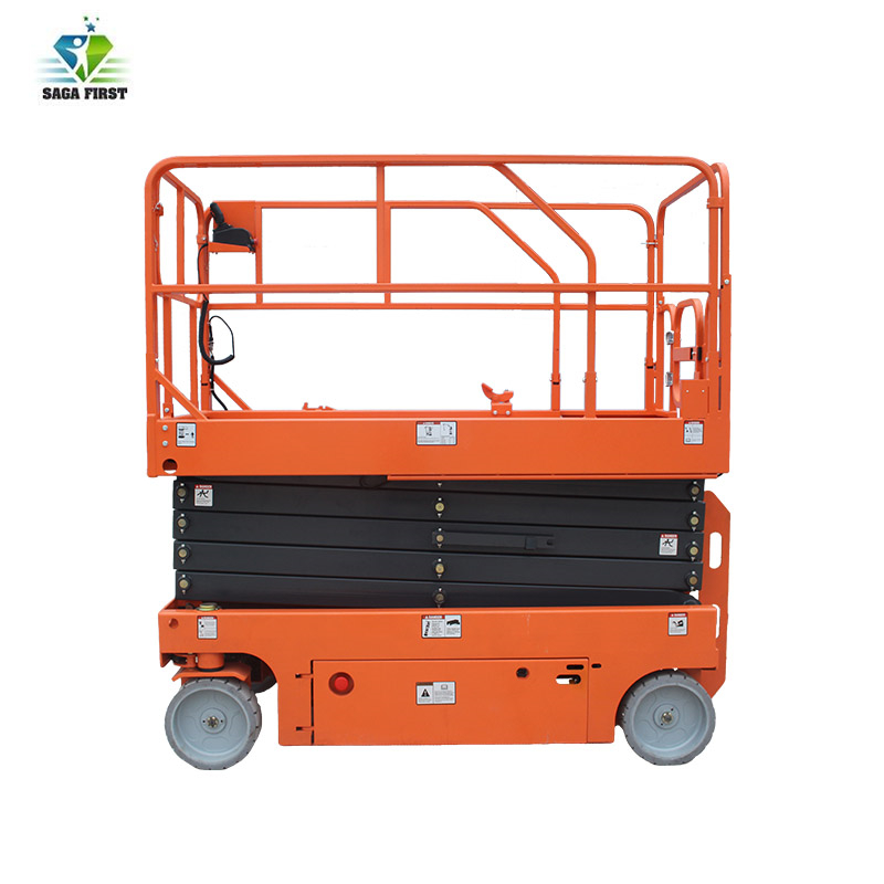 6m-12m Hydraulic Electric Self Propelled Mobile Scissor Lift For Sales